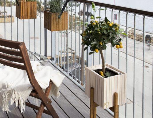 Jak urządzić balkon, mieszkania z balkonem