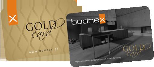 Złota karta Budnex